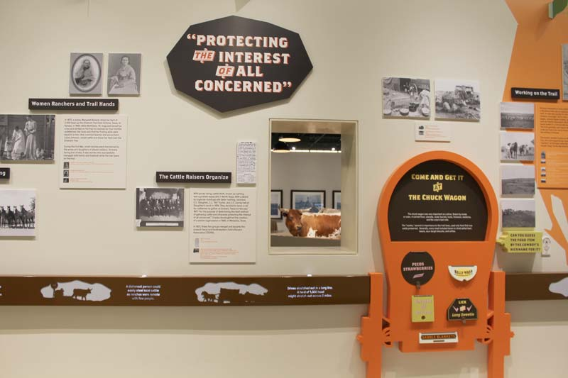 Cattle Raisers Museum Exhibit