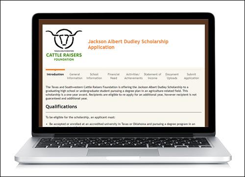 TSCRF Online Scholarship Application